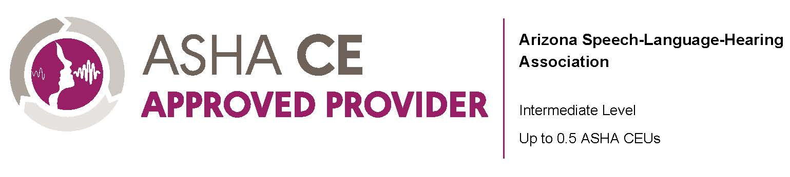 ASHA Approved Provider graphic